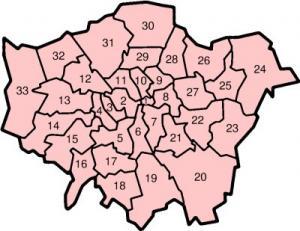 Dzielnice Londynu